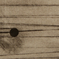 Tralicci – monotipo (dettaglio)